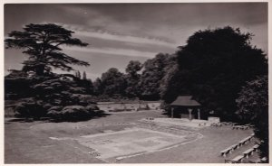 Aylesford Kent Priory Bandstand Gardens Ground Old RPC Postcard