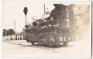 RPPC, Parade Float, City League, Long Beach, Cal
