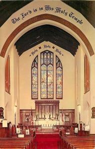 Philadelphia~Interior of St Simon the Cyrenian Episcopal Church~Rector Logan '69