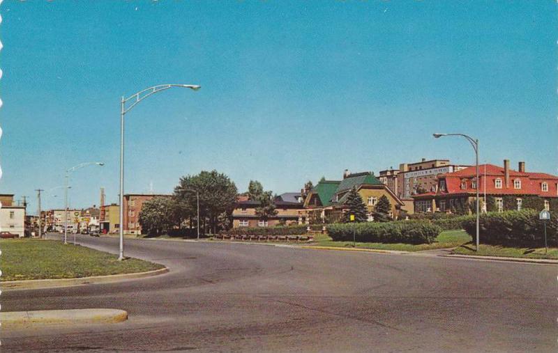 Entree Ouest De La Ville, Rimouski, Quebec, Canada, 1950-1960s