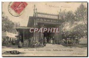 Marseille - Exposition Coloniale - Pavilon of Forests of & # 39Algerie - eye ...