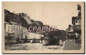 Old Postcard Namur The Saber and the Citadel