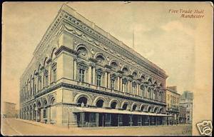lancashire, MANCHESTER, Free Trade Halll (1910s)