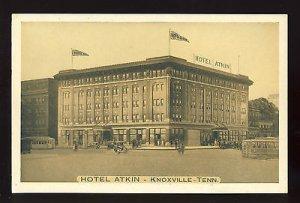 Vintage Knoxvile, Tennessee/TN/Tenn Postcard, Hotel Atkin, 1930!