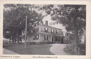 New Hampshire Hillsboro Pierce Mansion