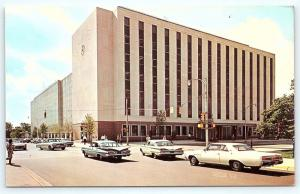 Postcard IN Lafayette Purdue University Krannert School Industrial Admin C30