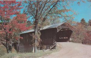 Sandwich NH, New Hampshire - Durgin Covered Bridge on Cold River