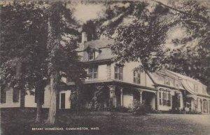 Massachusetts Cummington Bryant Homestead
