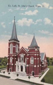 Illinois Elgin Evangelical Lutheran St John's Church