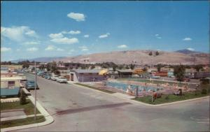 National Trailer Park & Sales Salt Lake City UT Mobile Home Court Postcard