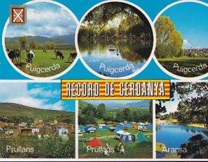 POSTAL B01562: Record de Cerdanya. Diversos aspectos.
