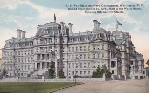 Washington D C U S War State and Navy Departments