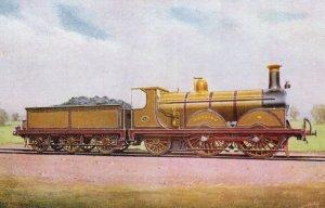 LBSC 2-4-2 Hayling Train Brighton Built Vintage Railway Postcard