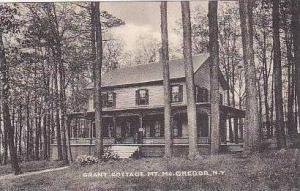 New York Mt McGregor Grant Cottage Albertype