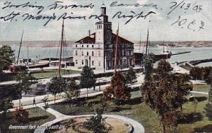 Michigan Sault Sainte Marie Government Park & Lock 1908