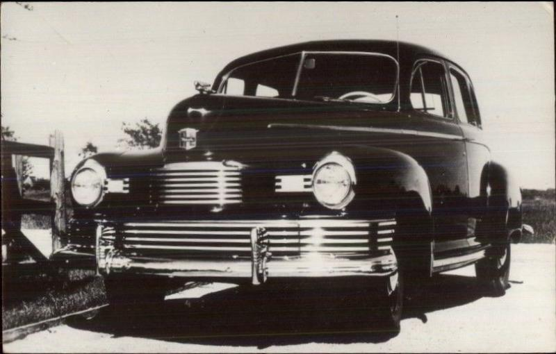 1940s Nash Automobile Car - Real Photo Postcard