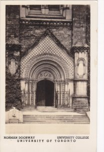 RP: TORONTO , Ontario , Canada , 20-40s ; Norman Doorway, University College