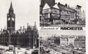 England Manchester Town Hall Old Shambles & Piccadilly 1969 Photo