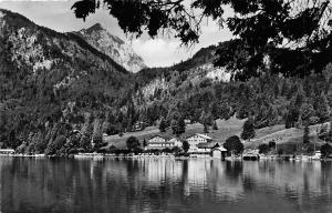 Walchensee mit Herzogstand Gesamtansicht Lake