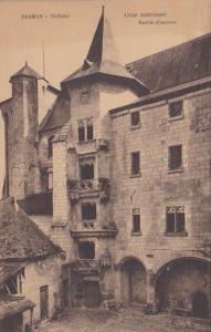 France Saumur Chateau Cour interieure