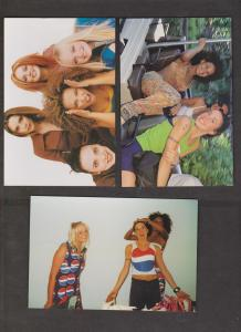 SPICE GIRLS - 9 Cards With 2 Or 3 Together - Unused - Writing On Backs