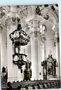 Wallfahrtskirche Steinhausen Germany Vintage 4x6 Photo Postcard E04