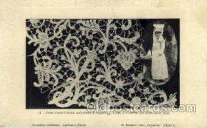 lace, knitting, sewing, 1911