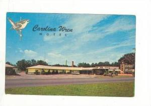 Carolina Wren Motel, Orangeburg, South Carolina, 40-60s