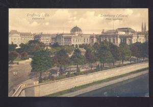 STRASSBURG I. ELS. KAISERPLATZ GERMANY ANTIQUE VINTAGE POSTCARD