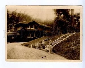 258758 USSR GEORGIA Borjomi Likani Holiday House 1934 year PC