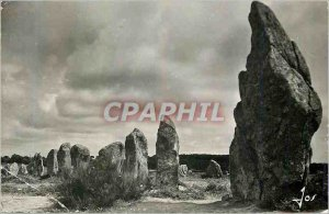 Modern Postcard Carnac (Morbihan) Brittany megalithic monuments