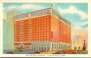 Ohio Cincinnati The Hotel Gibson 1944
