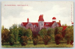 Sioux Falls South Dakota~All Saints Girls Boarding School~Prairie Gothic~1914 PC