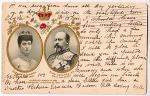 Queen Alexandra & King Edward VII