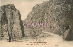 Postcard Old Val Andre Brittany Picturesque The Lingouare