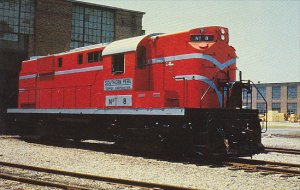 Southern Peru Copper Corporation Locomotive No 8 ALCO RS-11