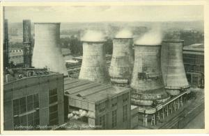 Netherlands, Lutterade, Staatsmijn Maurits Koeltorens, unused Postcard