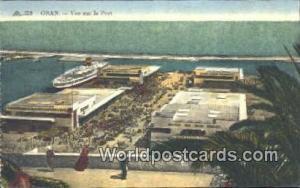 Oran Algeria, Africa, Vue sur le Port  Vue sur le Port