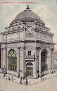 New York Buffalo Bank Of Savings 1910
