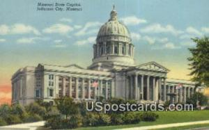 Missouri State Capitol Jefferson City MO Unused