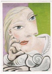 Postcard The Museum of Modern Art Picasso Marie Therese