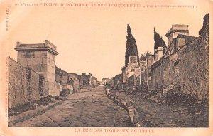 La Rue Des Tombeaux Actuelle Italy Unused