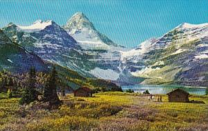 Canada Canadian Rockies Mount Assiniboine Known As The Matterhorn Of The Cana...