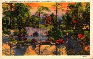 Pennsylvania Philadelphia Fairmont Park Japanese Garden At Horticultural Hall...