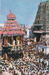 B89900 the temple car festival at madurai tamil nadu india types folklore