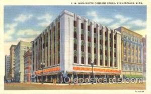 Woolworth Company Store, Minneapolis, MN, USA Store Fronts and Store Interior...