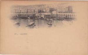 Algeria Algiers Harbor Scene