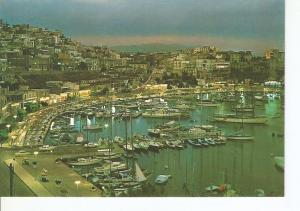 Postal 031278 : Piraeus - Nightfall at Tourcolimano