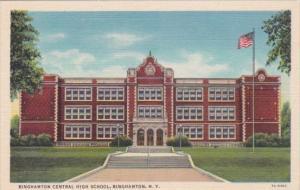 Binghampton Central High School Binghampton New York Curteich