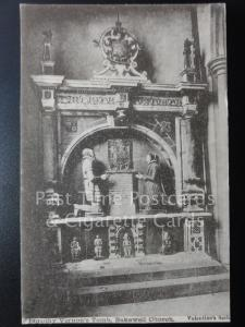 c1903 Derbyshire: Bakewell, Dorothy Vernon's Tomb, Bakewell Church